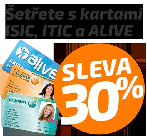 Sleva ISIC 30%